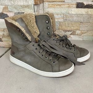 UGG Starlyn Sneakers in Mouse Grey